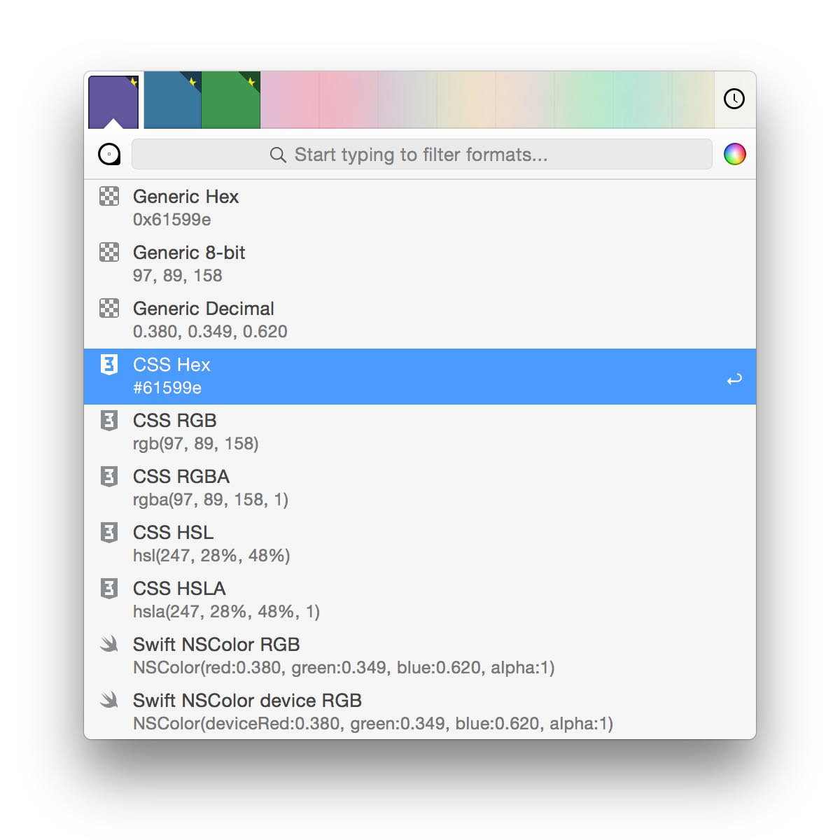 ColorSnapper — The Color Picker App for macOS